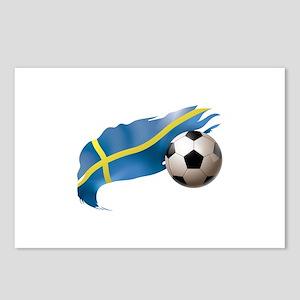 Sweden Soccer Postcards (Package of 8)