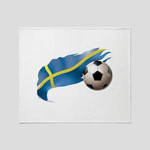 Sweden Soccer Stadium Blanket