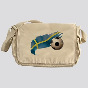 Sweden Soccer Messenger Bag