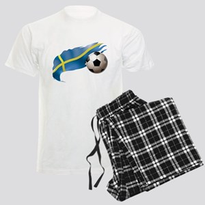 Sweden Soccer Men's Light Pajamas