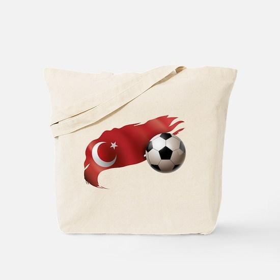 Turkey Soccer Tote Bag