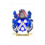 Townshend Sticker (Rectangle 50 pk)