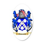 Townsend Oval Car Magnet