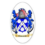 Townsend Sticker (Oval 50 pk)