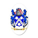 Townend Oval Car Magnet