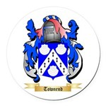 Townend Round Car Magnet