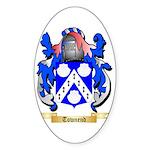 Townend Sticker (Oval 50 pk)