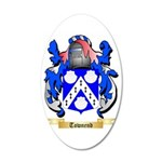 Townend 35x21 Oval Wall Decal