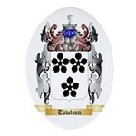 Towlson Oval Ornament