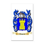 Towers Rectangle Car Magnet