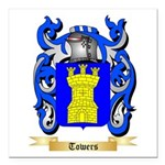 Towers Square Car Magnet 3