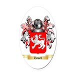 Towell Oval Car Magnet