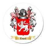 Towell Round Car Magnet