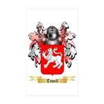 Towell Sticker (Rectangle 10 pk)