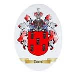 Tours Oval Ornament