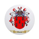 Tours Round Ornament