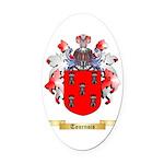 Tournois Oval Car Magnet