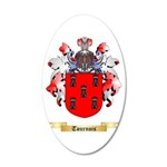 Tournois 20x12 Oval Wall Decal