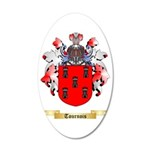 Tournois 35x21 Oval Wall Decal