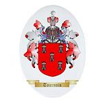 Tournois Oval Ornament