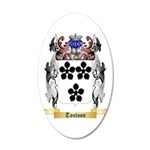Toulson 20x12 Oval Wall Decal