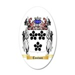 Toulson 35x21 Oval Wall Decal