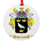 Toulmin Round Ornament
