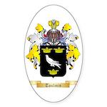 Toulmin Sticker (Oval 50 pk)
