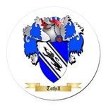 Tothill Round Car Magnet