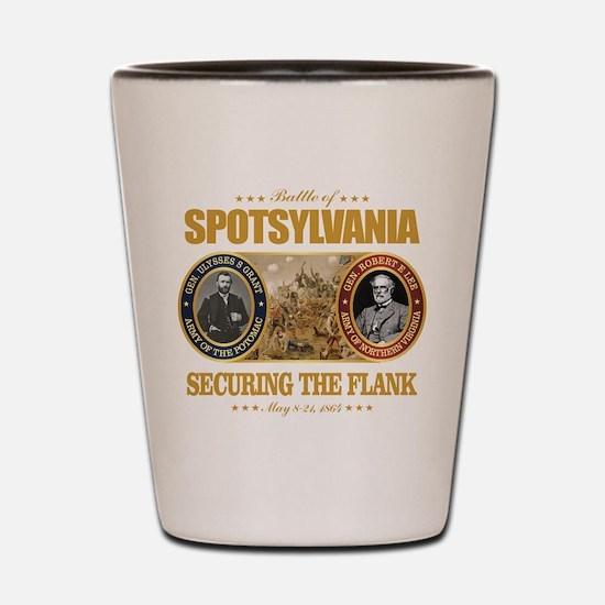 Spotsylvania Shot Glass