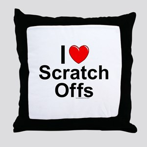Scratch Offs Throw Pillow