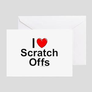 Scratch Offs Greeting Card