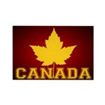 Canada Souvenir Varsity Rectangle Magnet (10 pack)