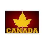 Canada Souvenir Varsity Rectangle Magnet (10 pack)