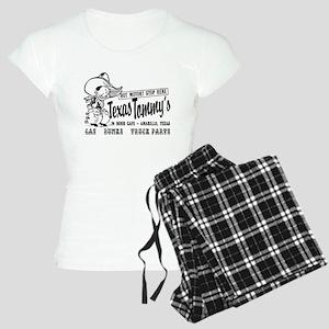 Text Tommys, Amarillo Texas Women's Light Pajamas