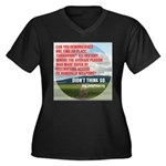 Just One Question Plus Size T-Shirt