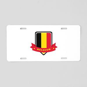 Belgium Aluminum License Plate