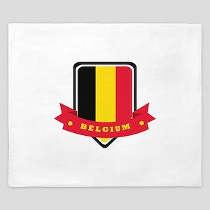Belgium King Duvet