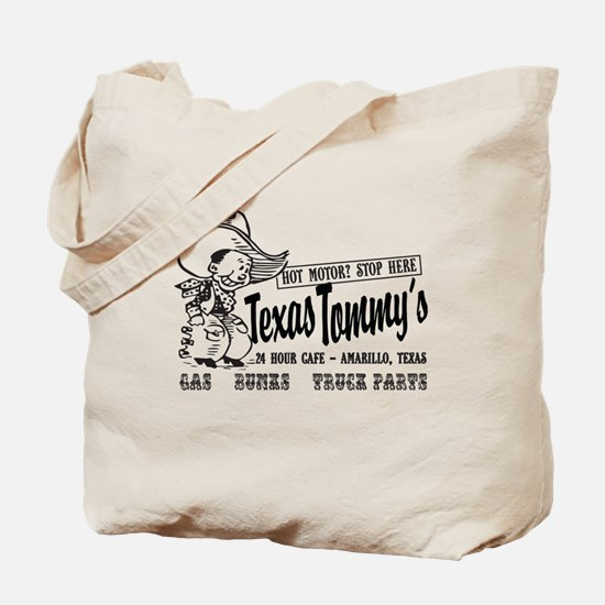 Text Tommy's, Amarillo Texas Truck Stop C Tote Bag