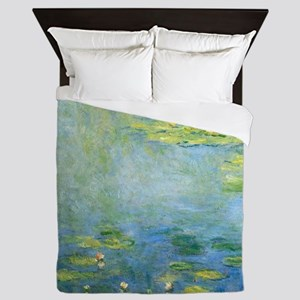 Claude Monet - Waterlilies Queen Duvet