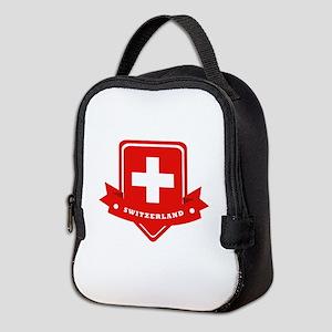Switzerland Neoprene Lunch Bag