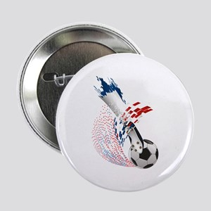 "France Soccer 2.25"" Button"