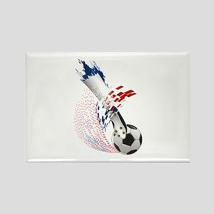France Soccer Rectangle Magnet