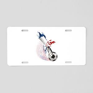 France Soccer Aluminum License Plate