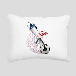 France Soccer Rectangular Canvas Pillow