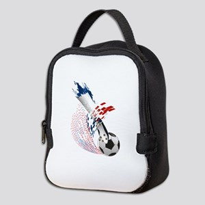 France Soccer Neoprene Lunch Bag