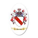 Torrens 20x12 Oval Wall Decal