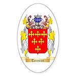 Torosian Sticker (Oval 10 pk)