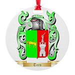 Toro Round Ornament