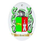 Toro Oval Ornament